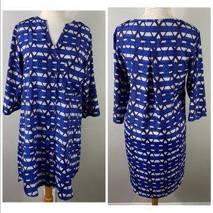 Lucky brand boho geometric tunic tops